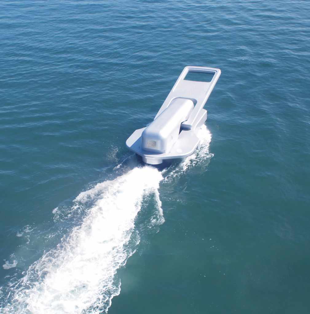 鈴木康広「ファスナーの船」(瀬戸内国際芸術祭2010に出展)